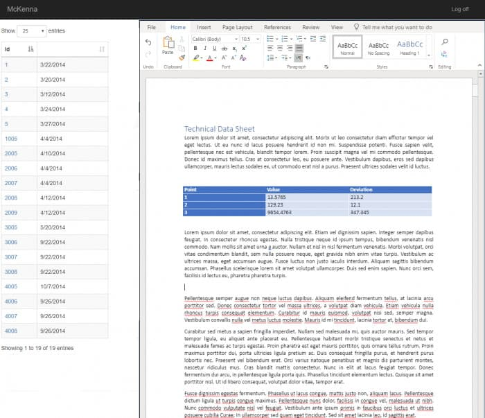 Using Wopi to Embed Microsoft Office