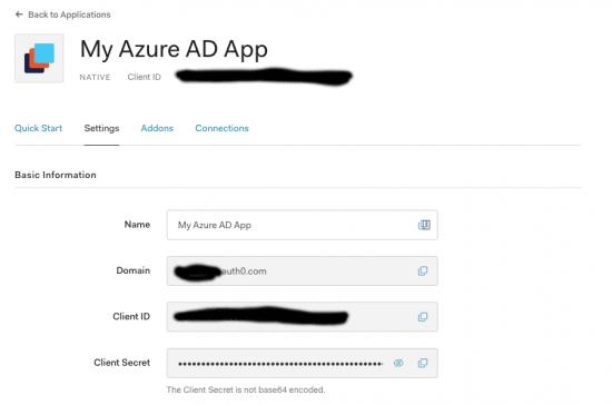 my azure ad