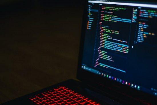Computer Screen Showing Code