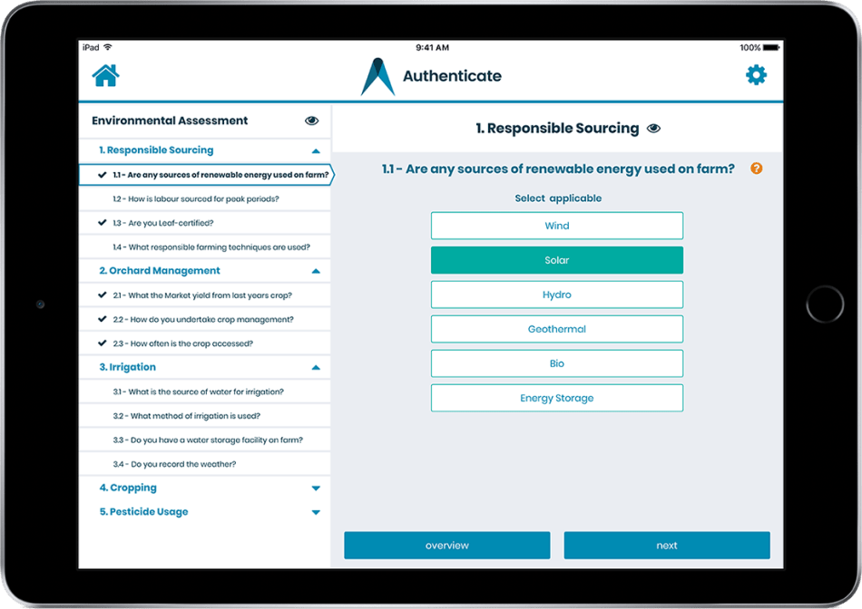McKenna Mobile Application Assessment -AuthenticateIS